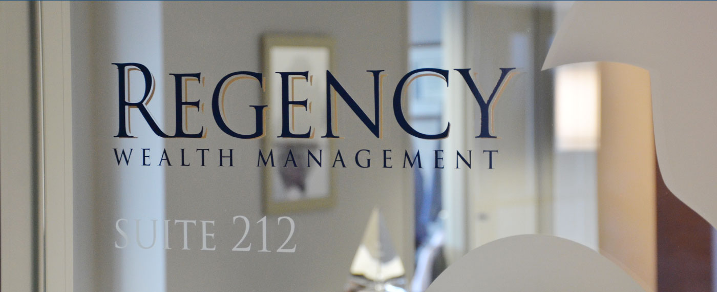 Entry Door of Regency Wealth Management